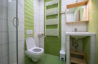 Apartma Bike - kopalnica in WC